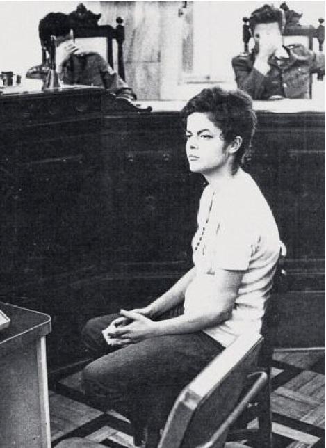 Dilma Rousseff vor dem Militärgericht