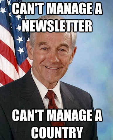 Cannot manage a newsletter, cannot manage a country