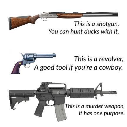 shotgun-revolver-murder-weapon