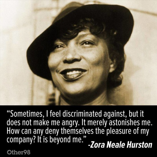 quotable zora neale hurston on discrimination news of